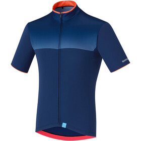Shimano Escape Maillot Manches courtes Homme, navy